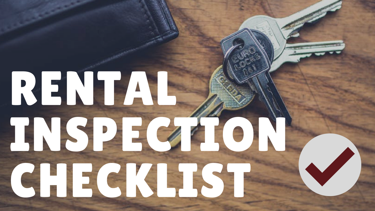 Rental Property Inspection Checklist by Chattanooga Property Management