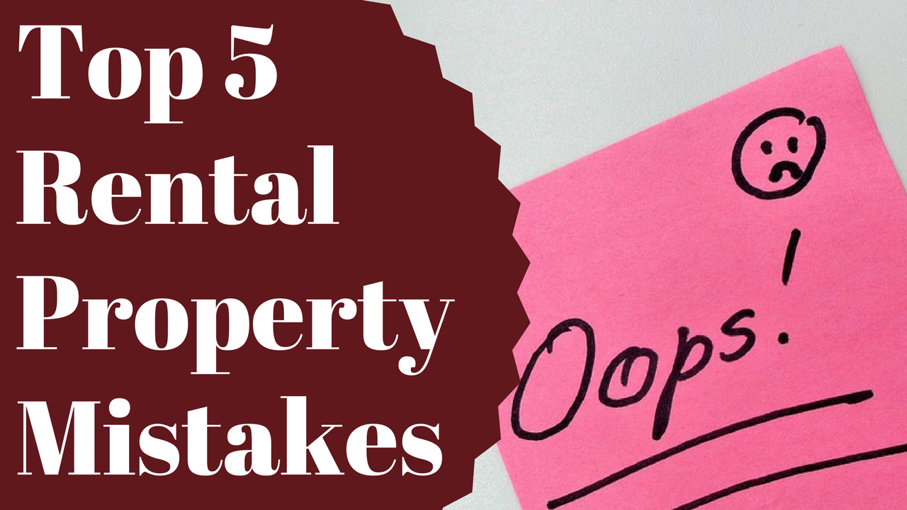 Top 5 Rental Property Mistakes To Avoid as a Landlord in Chattanooga, TN